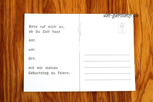 пригласительные в германии