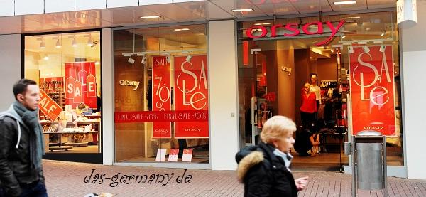 распродажи в германии