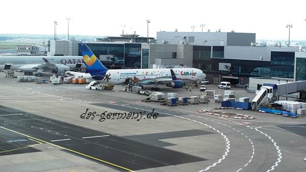 самый большой аэропорт германии