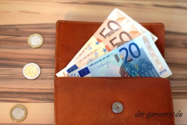 деньги на немецком языке