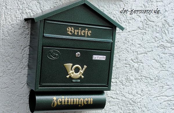 почтовые ящики в германии