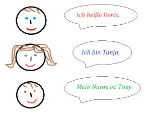 как тебя зовут по-немецки