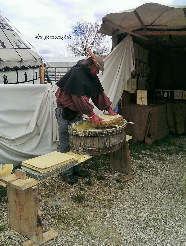 средневековый рынок в германии