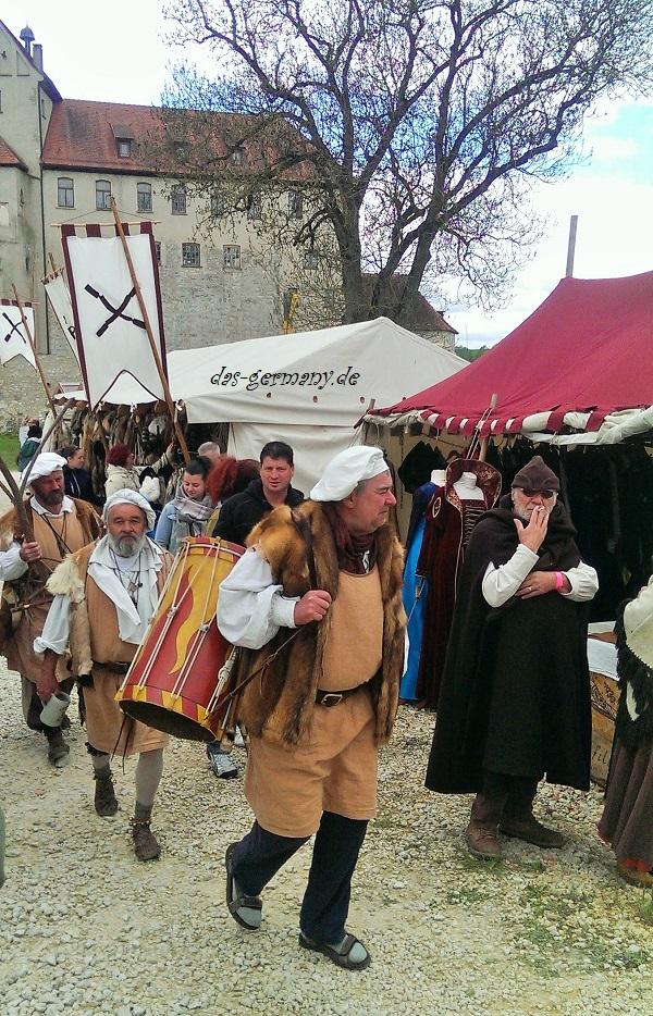 средневековые мероприятия в германии