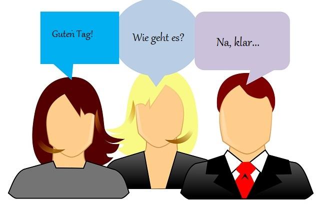 диалоги на немецком языке
