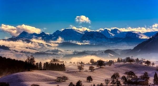 Швейцария на немецком языке