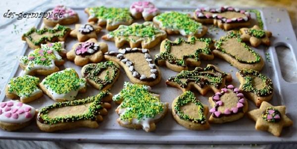 рождественские печеньки в германии