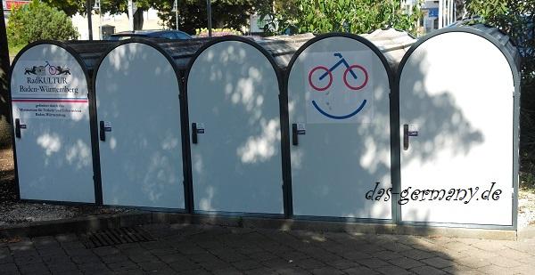 гаражи для велосипедов в германии
