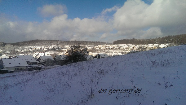 снег по-немецки