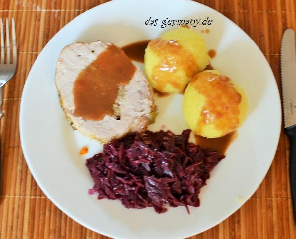 немцы едят кнёдли