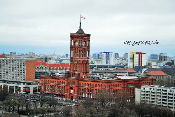 Берлин на немецком языке