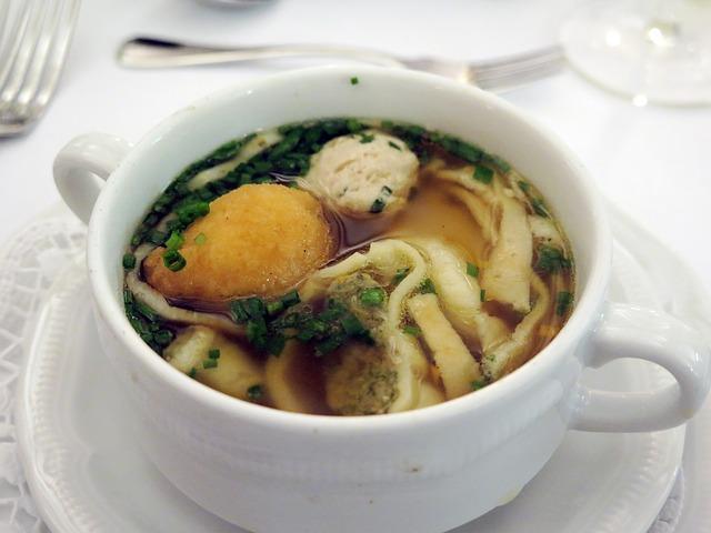 Немецкий свадебный суп
