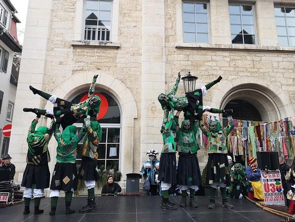 карнавал на немецком языке