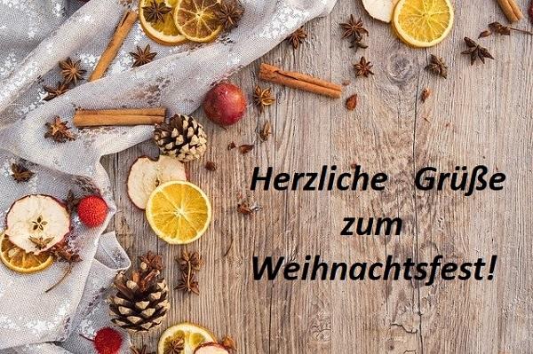 Поздравления с Рождеством на немецком языке